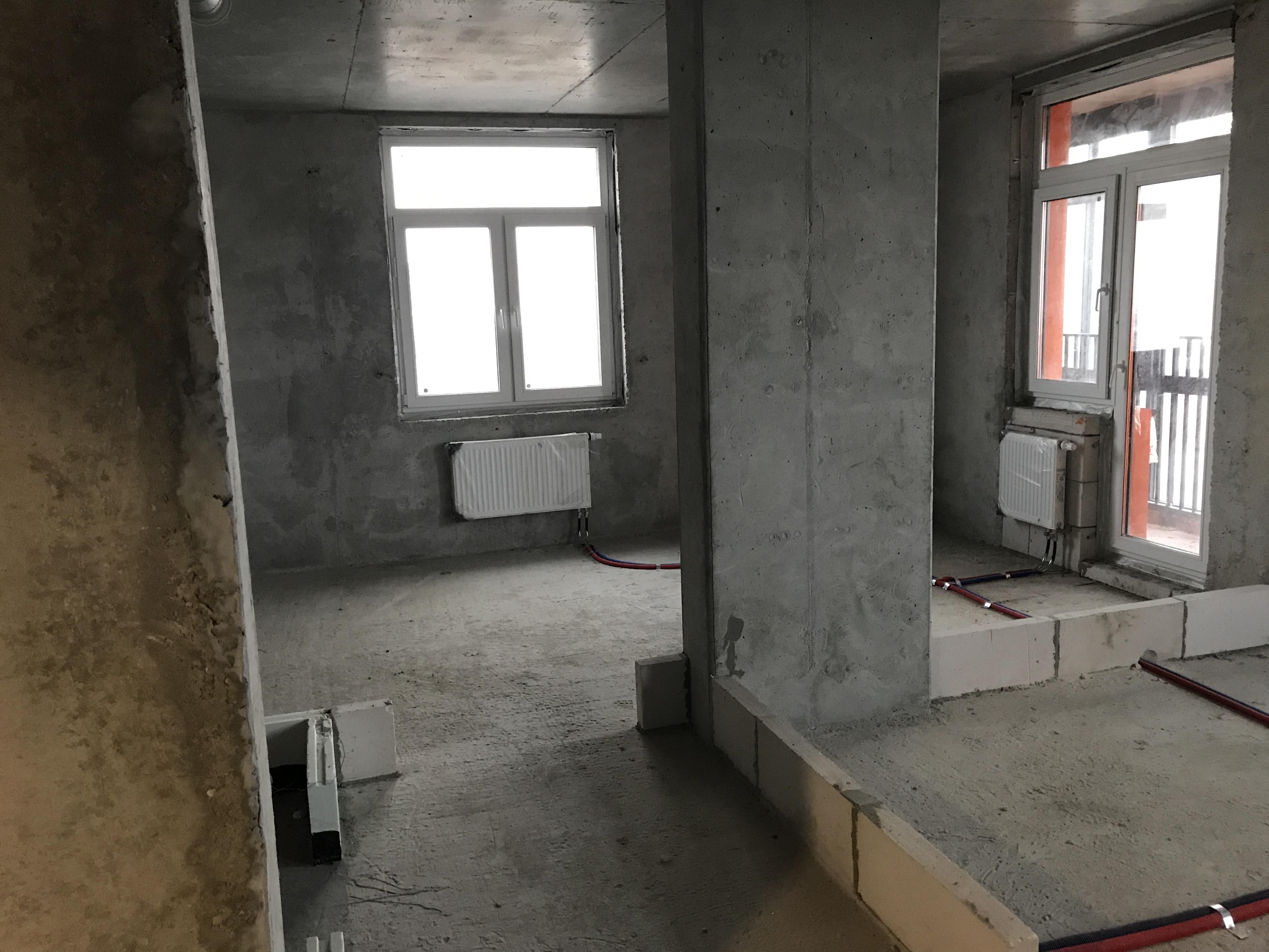 "Квартира без отделки во 2-ом корпусе ЖК ""Оранж Парк"""