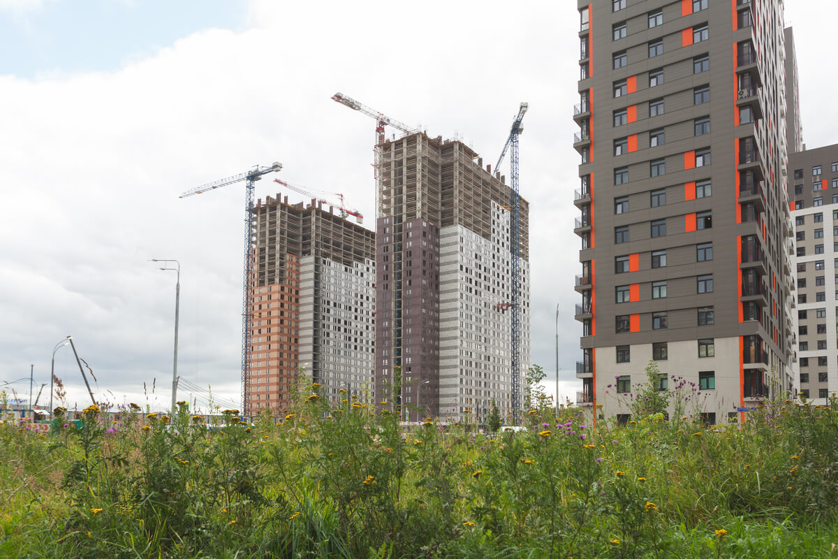 ЖК Оранж Парк - Фото строительства