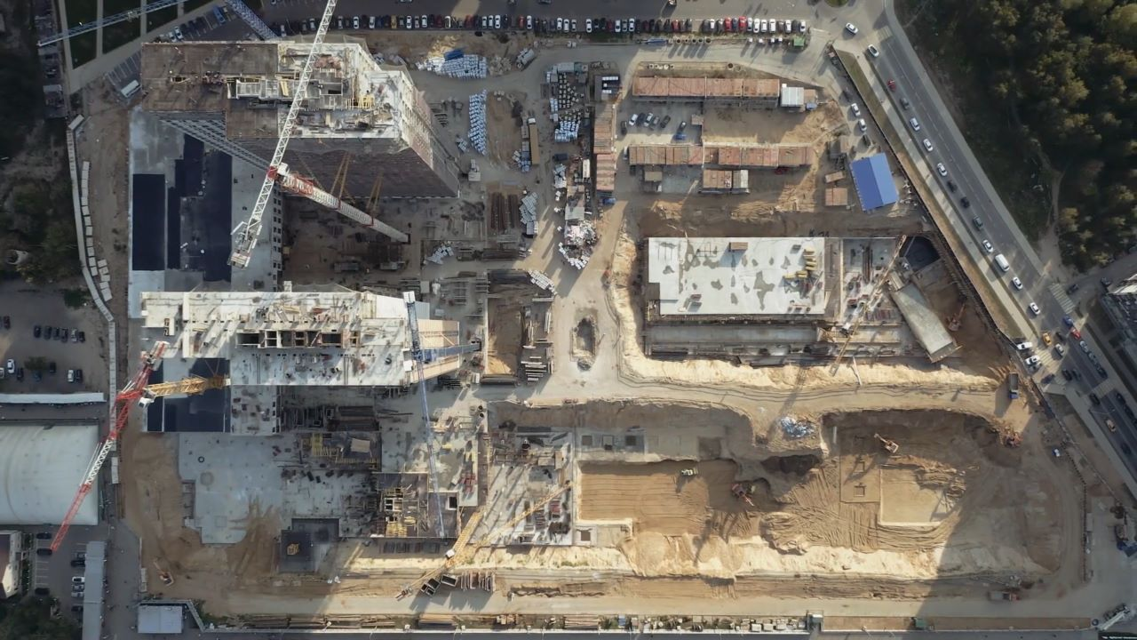 Строительство 6-10 корпусов