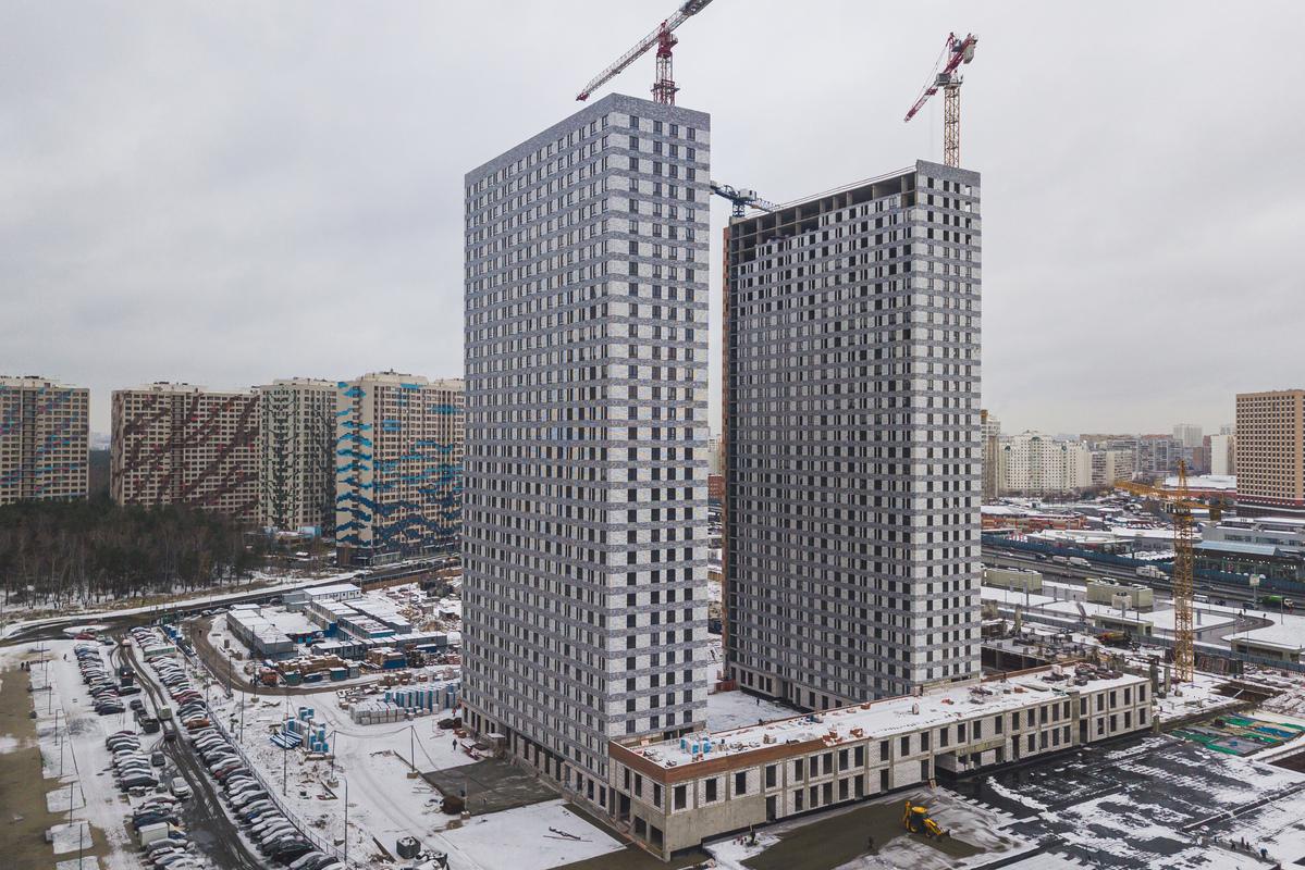 Оранж Парк - Фото строительства