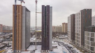 Оранж Парк - Фото строительства от 19-11-01