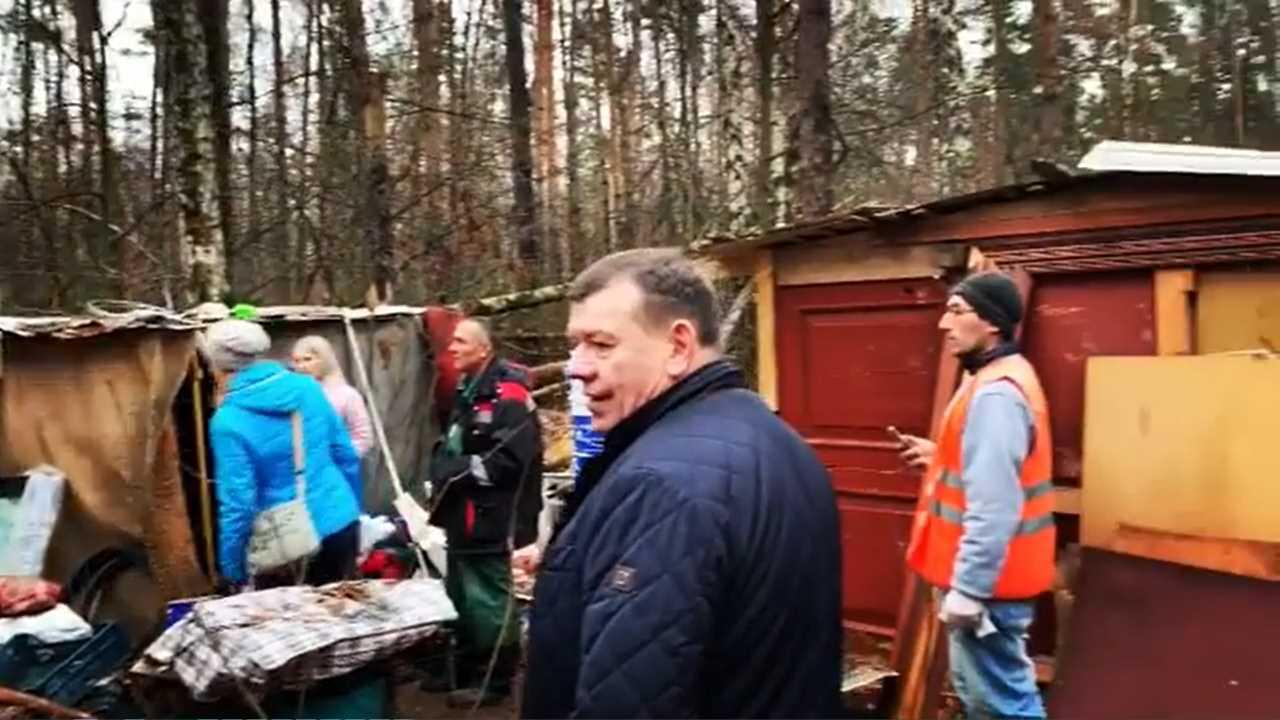 Тайная деревня в Кузьминском лесопарке