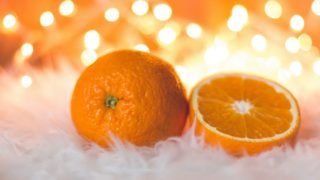 Новый год Апельсины