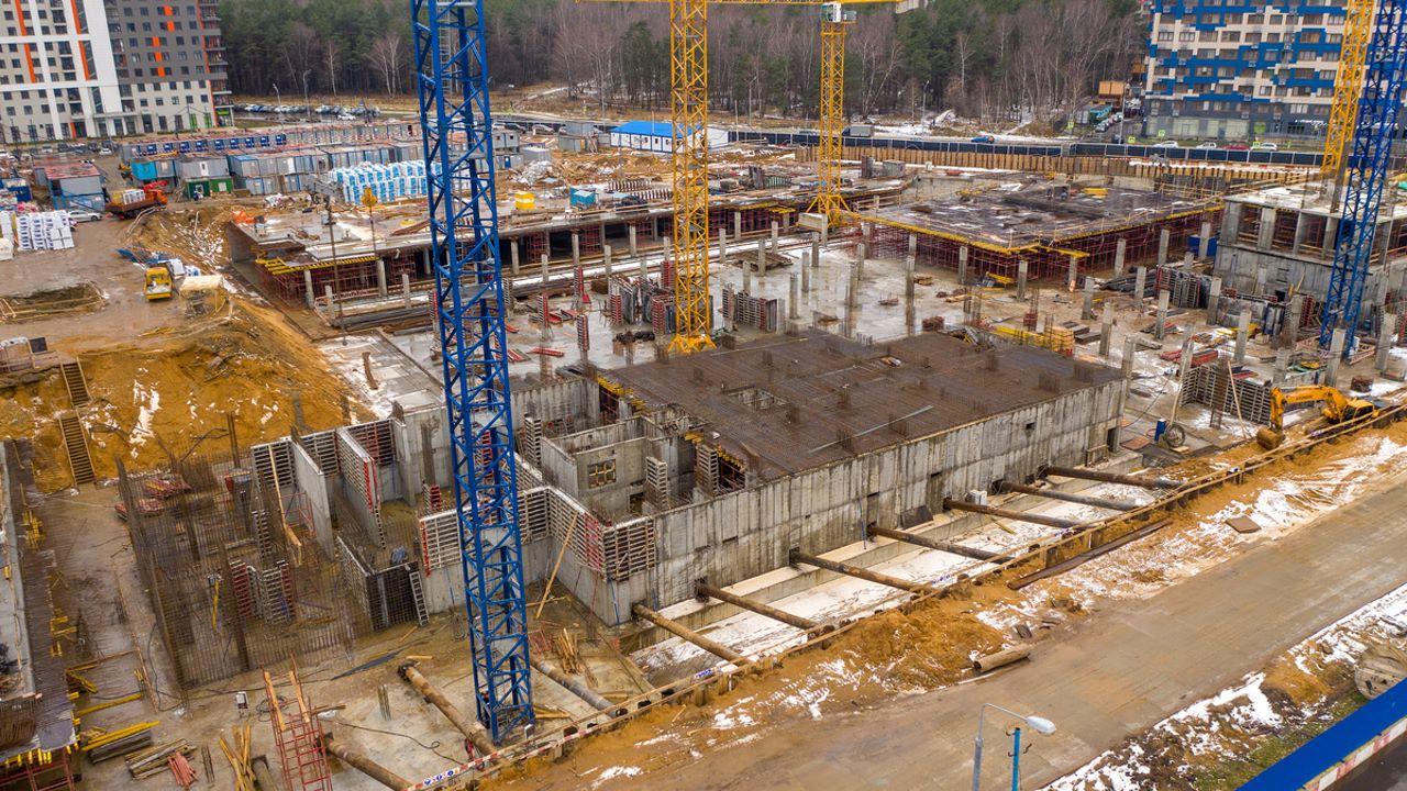 Оранж Парк - Фото строительства от 19-12-05
