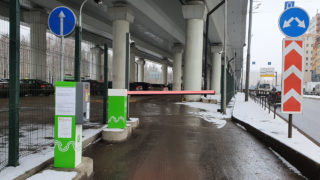 Перехватывающая парковка у метро Котельники