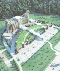 Проект гостиничного комплекса у МКАД в Котельниках