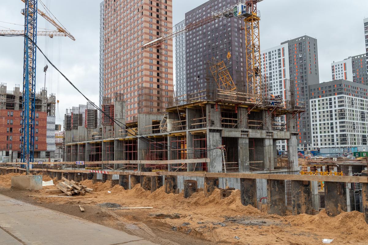 Оранж Парк - Фото строительства от 20-01-20