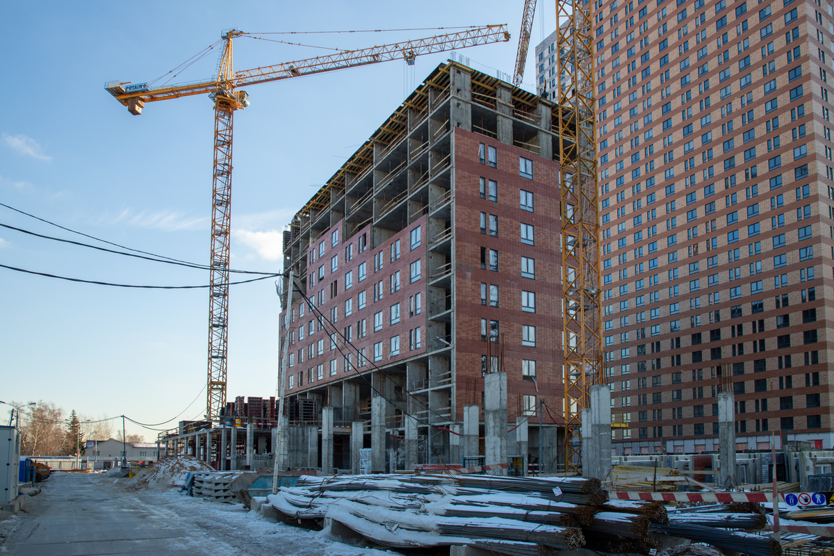 Оранж Парк - Фото строительства от 20-02-08