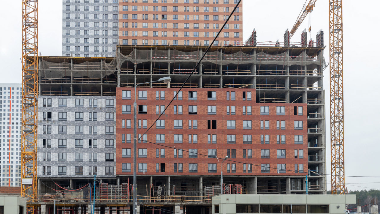 Оранж Парк - Фото строительства от 20-02-18
