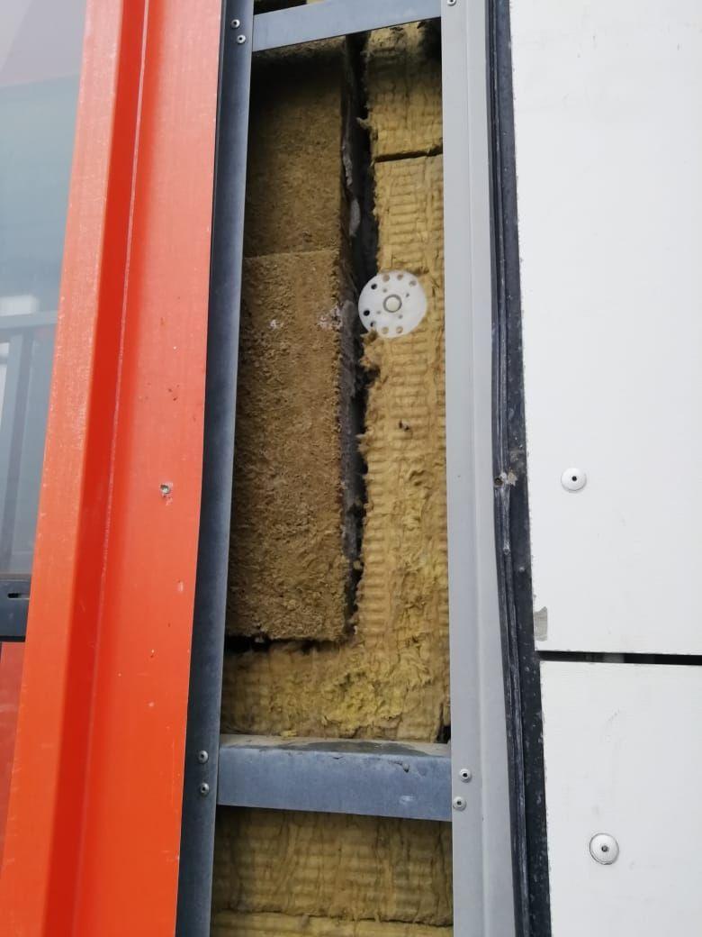 Проблемы с утеплением фасада