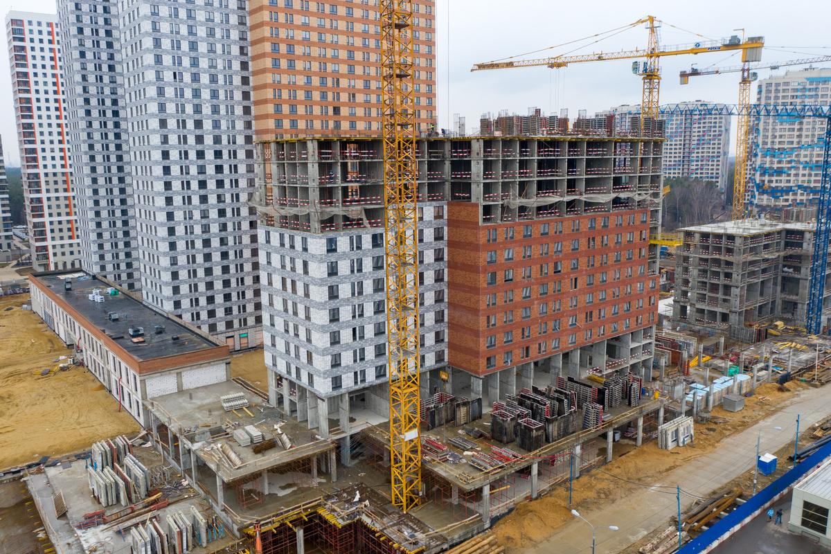 Оранж Парк - Фото строительства от 20-03-03