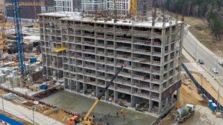 Оранж Парк - Фото строительства от 20-04-03
