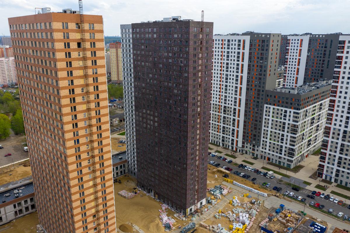 Оранж Парк - Фото строительства от 20-05-04