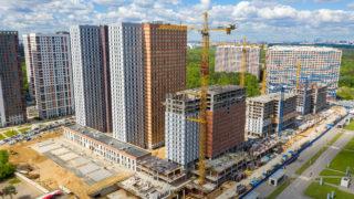 Оранж Парк - Фото строительства от 20-05-20