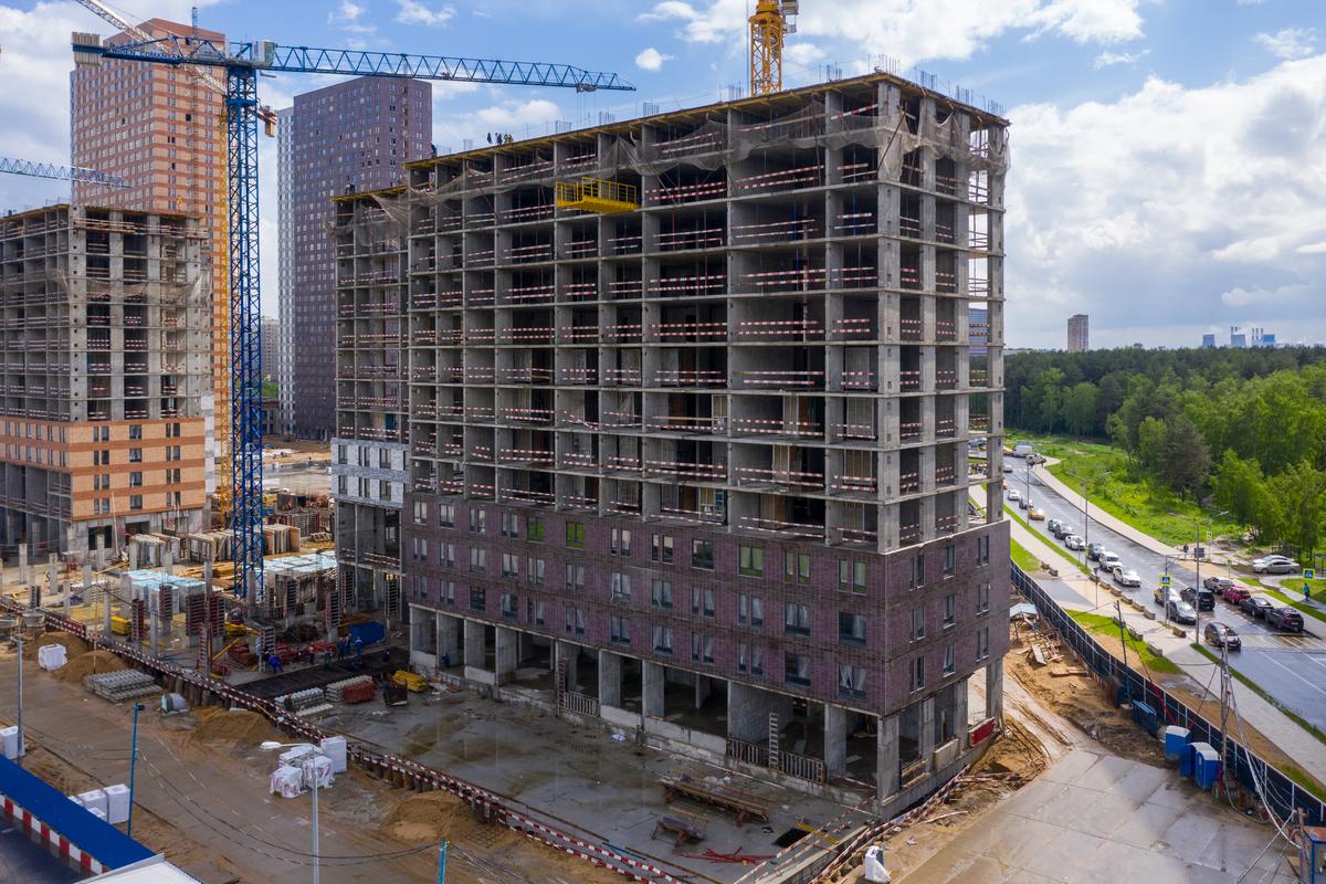 Оранж Парк - Фото строительства от 20-06-04