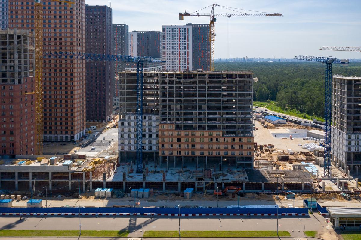 Оранж Парк - Фото строительства от 20-06-17
