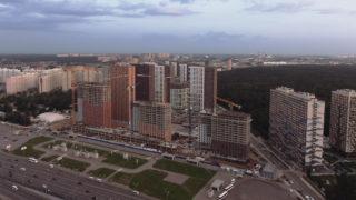 Видео строительства ЖК Оранж Парк от 27.06.2020