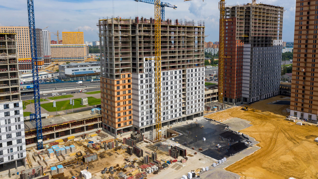Оранж Парк - Фото строительства от 20-07-15