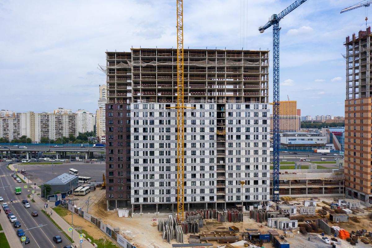 Оранж Парк - Фото строительства от 20-09-04