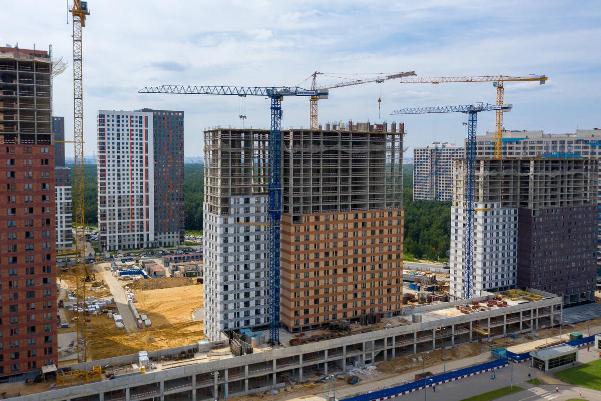 Оранж Парк - Фото строительства от 20-08-05
