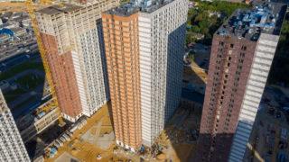 Оранж Парк - Фото строительства от 20-08-17
