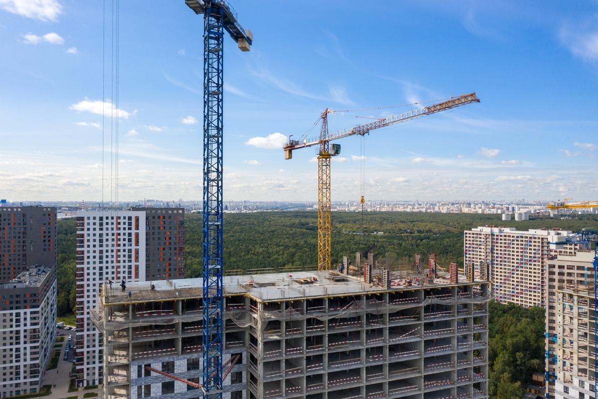 Оранж Парк - Фото строительства от 20-09-16
