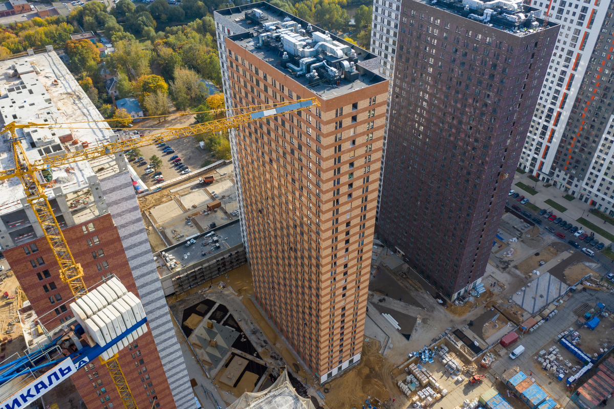 Оранж Парк - Фото строительства от 20-10-05
