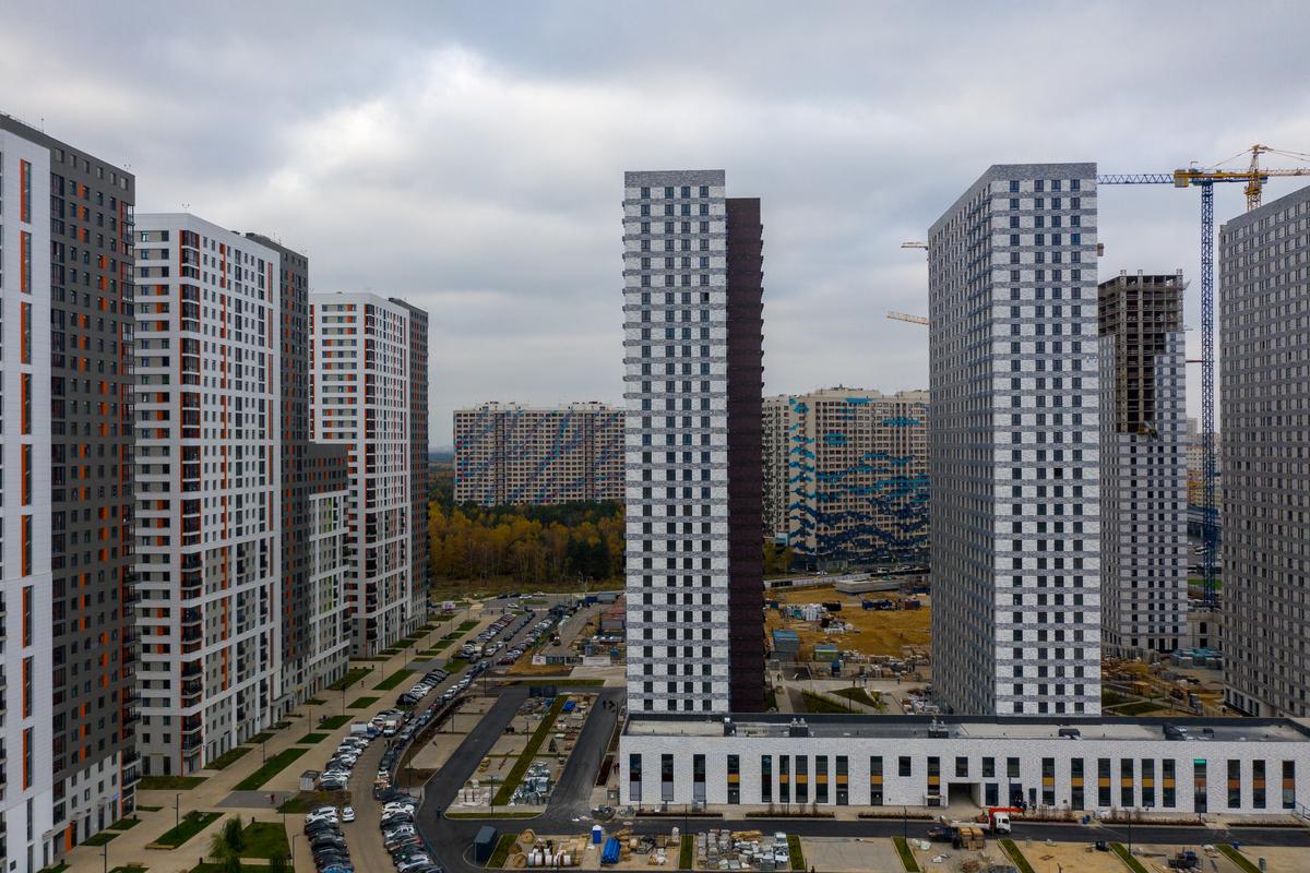 Оранж Парк - Фото строительства от 20-11-01