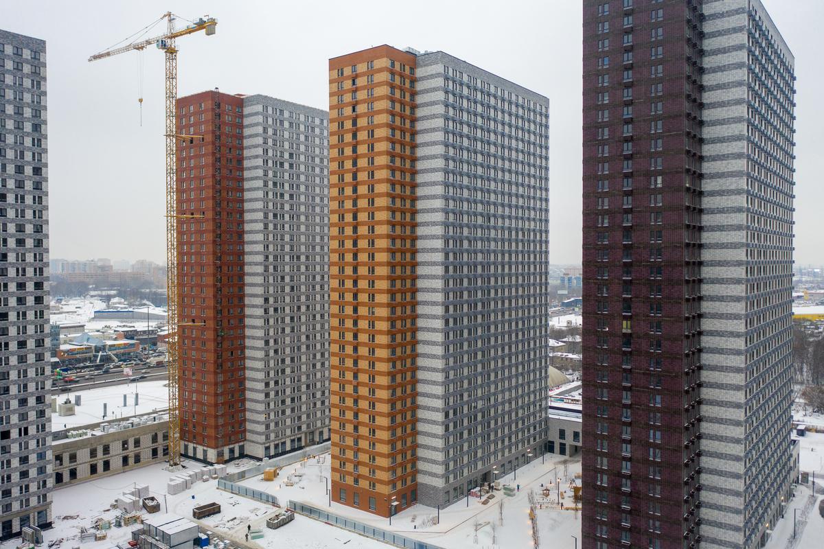 Оранж Парк - Фото строительства от 20-12-15