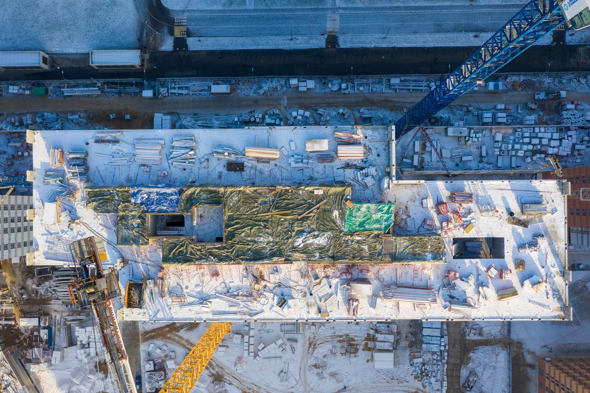 Оранж Парк - Фото строительства от 20-12-02