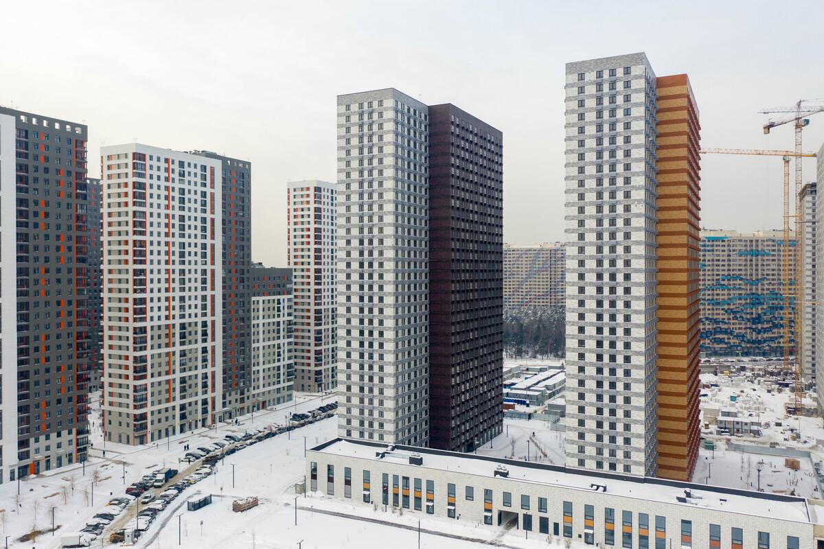 Оранж Парк - Фото строительства от 21-01-19