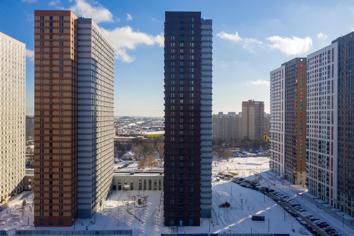 Оранж Парк - Фото строительства от 21-02-01