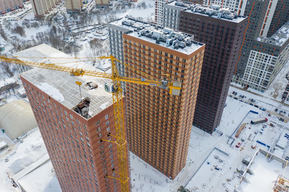 Оранж Парк - Фото строительства от 21-02-16