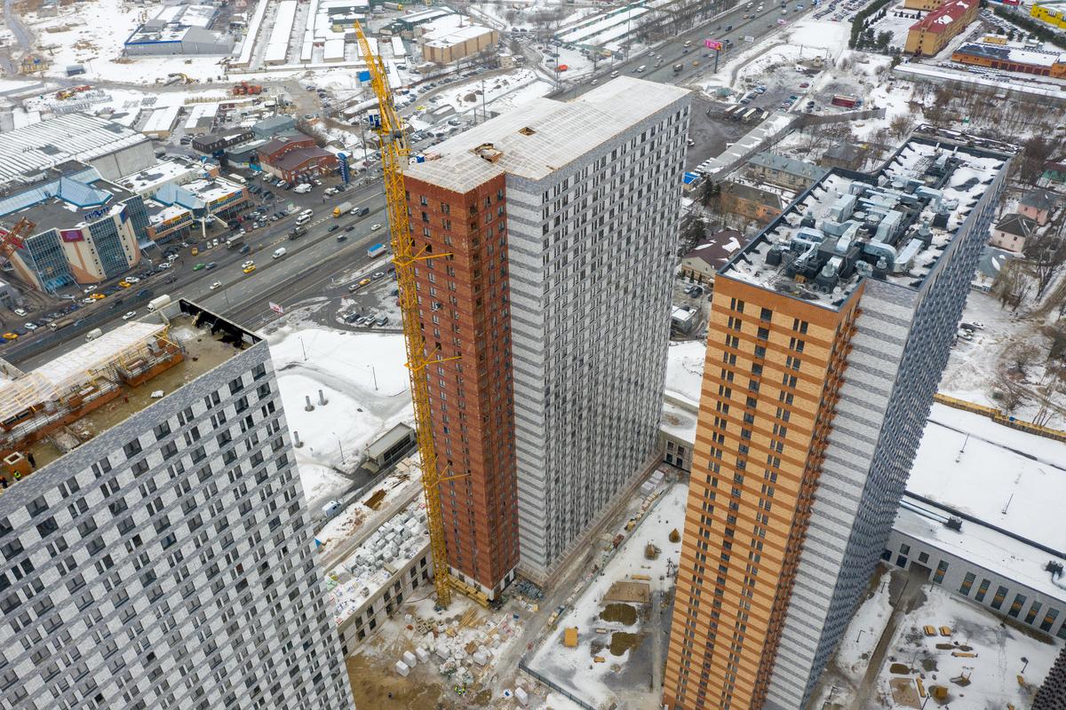 Оранж Парк - Фото строительства от 21-03-05