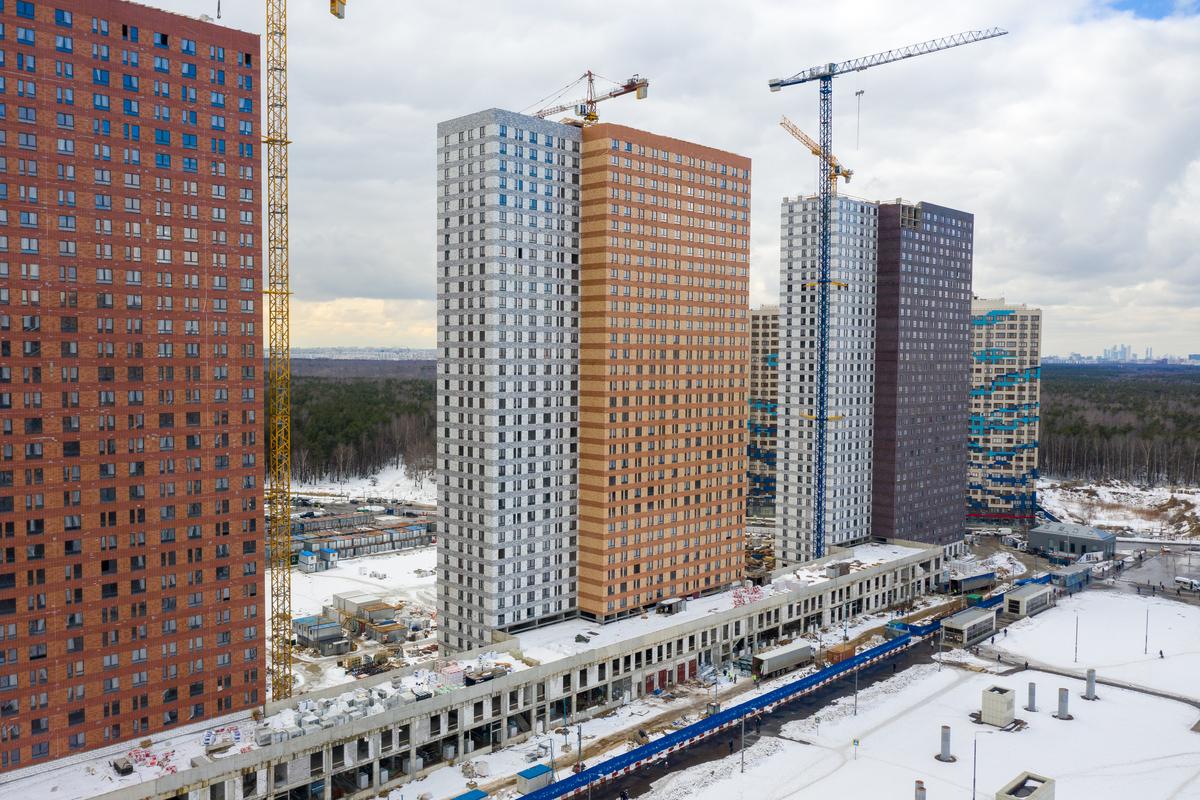 Оранж Парк - Фото строительства от 21-03-19