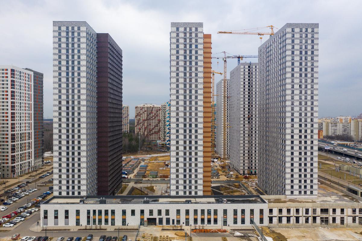 Оранж Парк - Фото строительства от 21-04-06