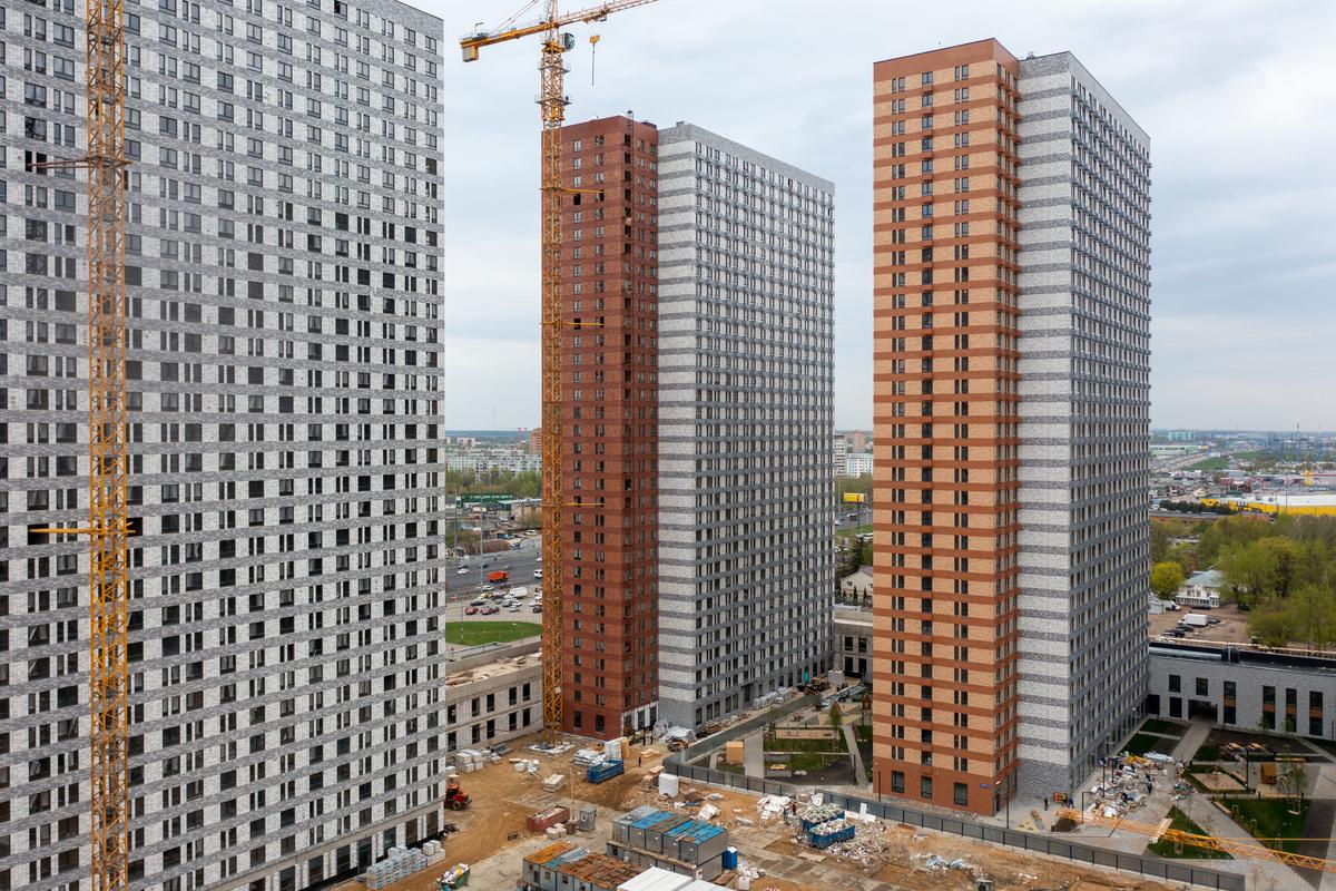 Оранж Парк - Фото строительства от 21-05-06