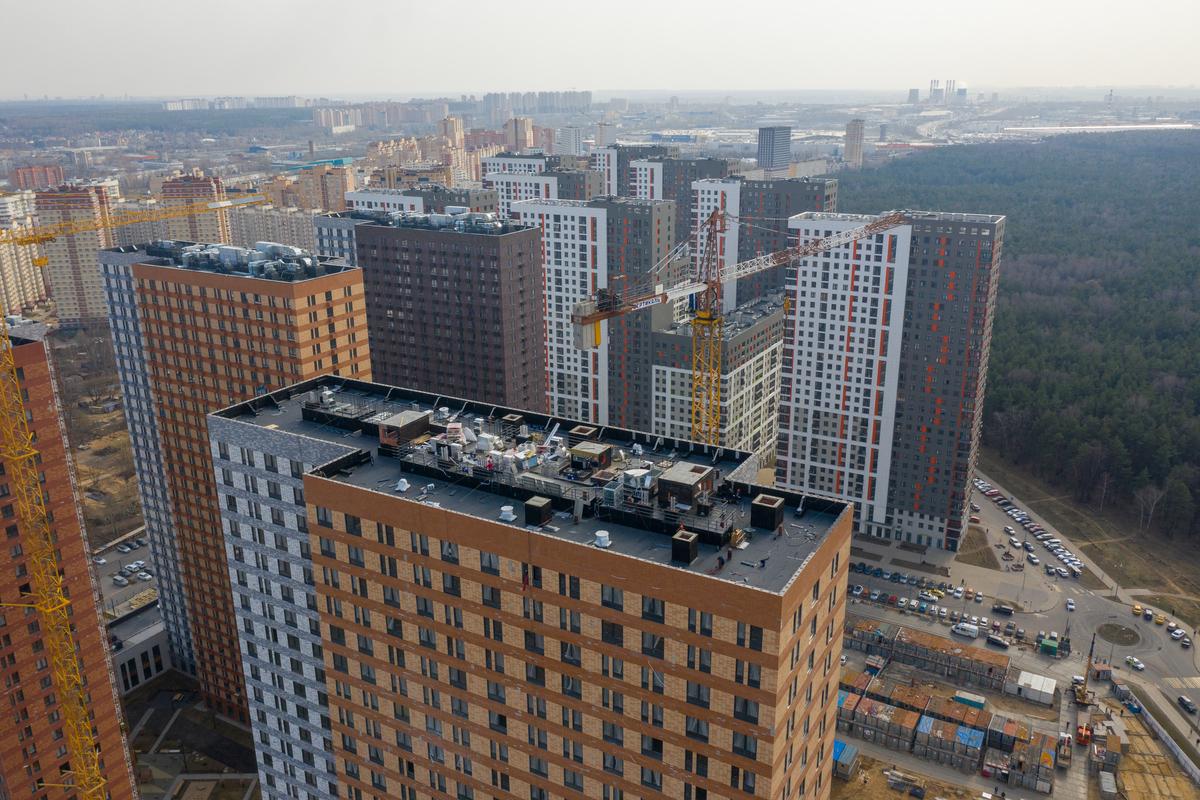 Оранж Парк - Фото строительства от 21-04-15