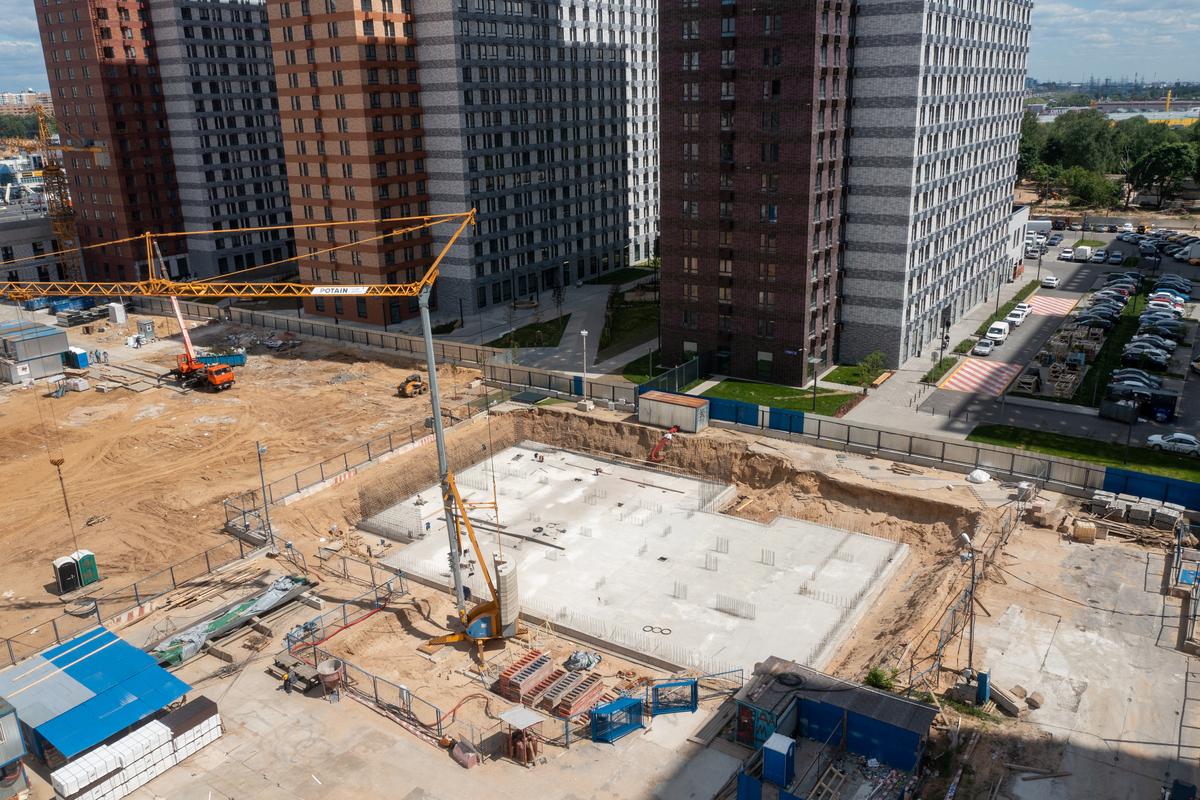 Оранж Парк - Фото строительства от 21-06-02