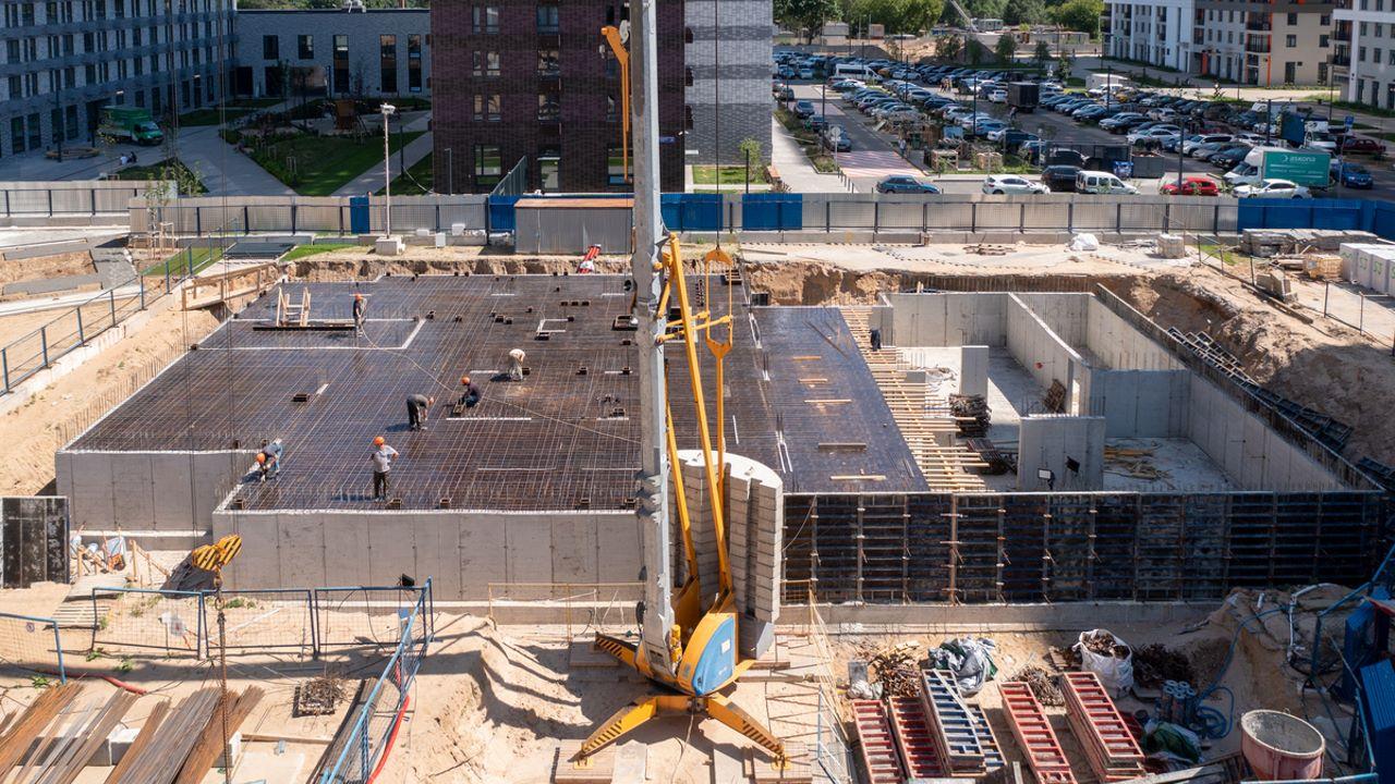 Оранж Парк - Фото строительства от 21-06-18