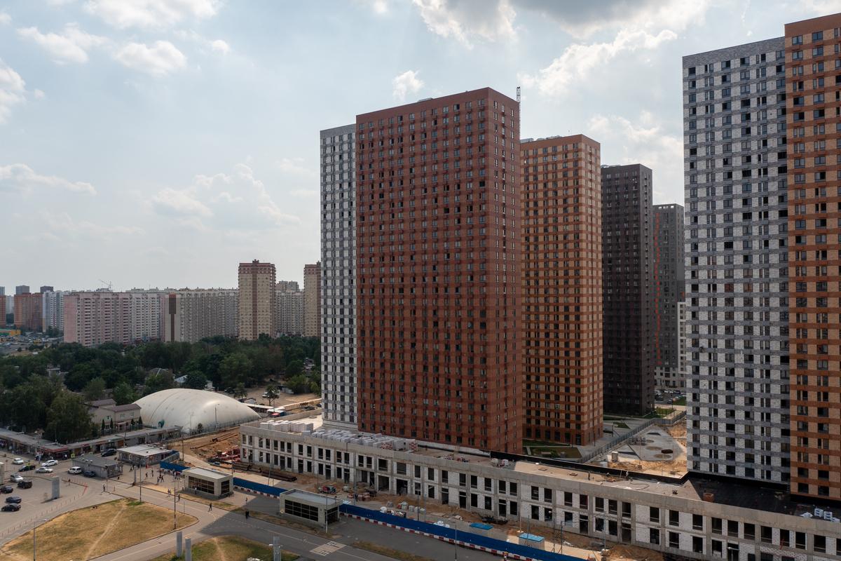 Оранж Парк - Фото строительства от 21-07-18
