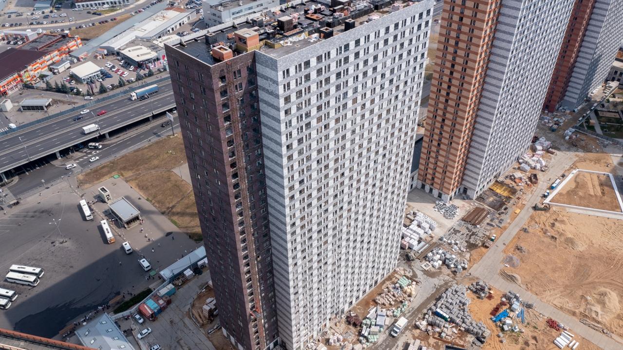 Оранж Парк - Фото строительства от 21-08-02